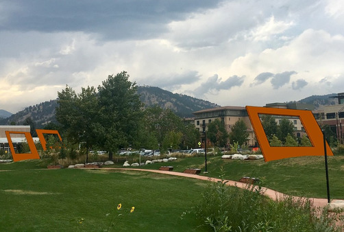 Rendering of public art coming soon to Boulder's Civic Area