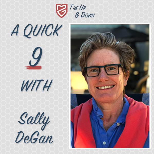 Quick 9 with Sally DeGan