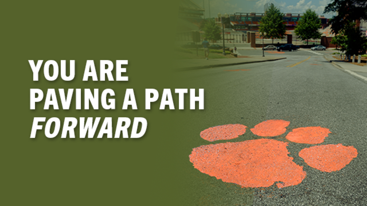 You are Paving a Path Forward