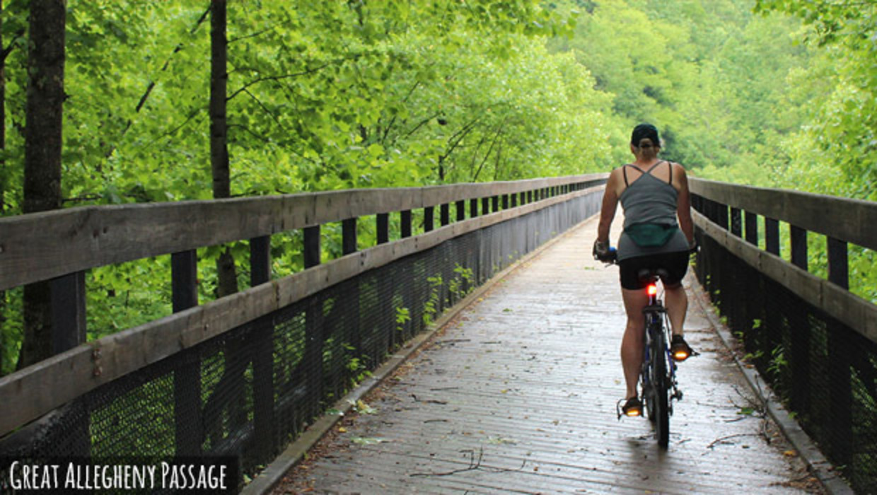 Cycling the One-of-a-Kind Great Allegheny Passage