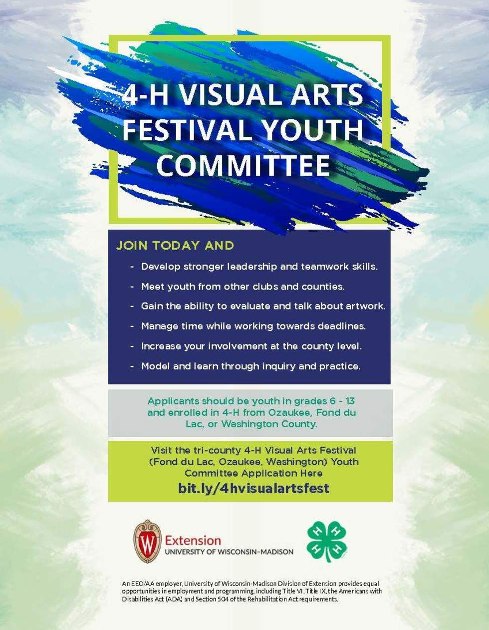 4-H VISUAL ARTS FESTIVAL YOUTH COMMITTEE