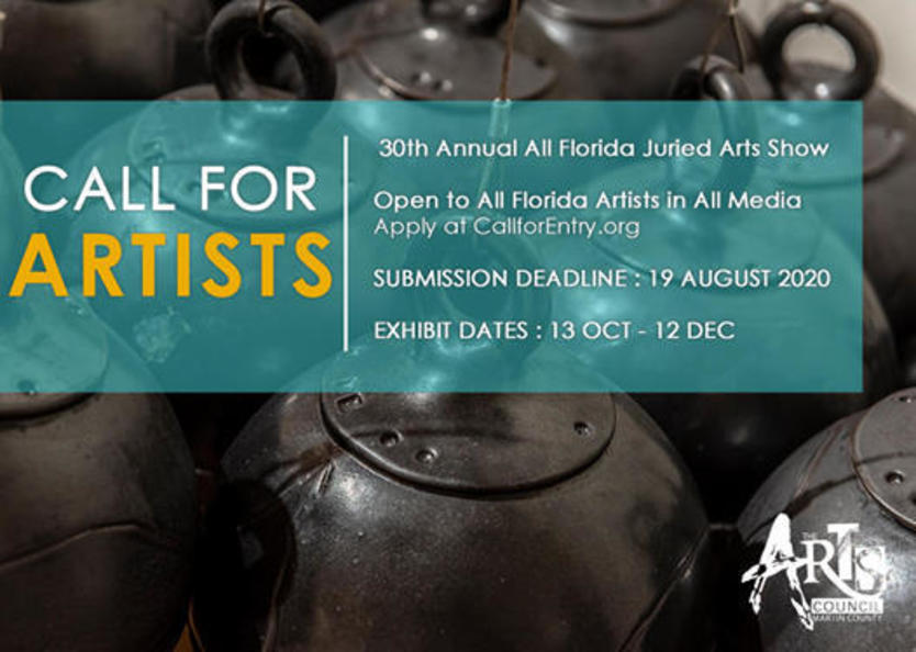 Call for Artists 30th Annual All Florida Juried Arts Show