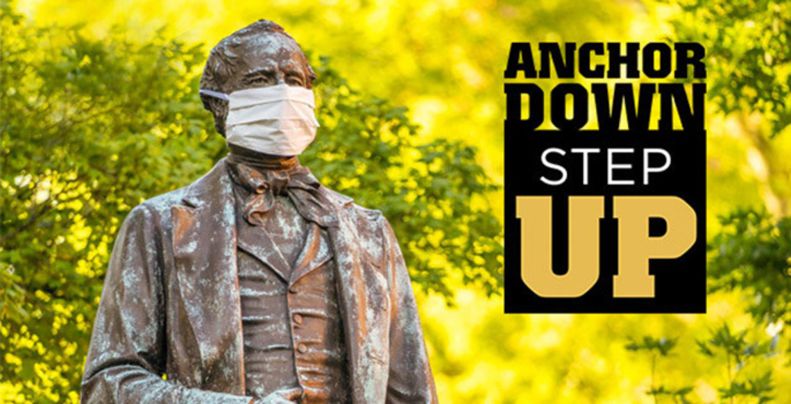 Anchor Down. Step Up.