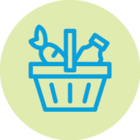 Food Basket Icon