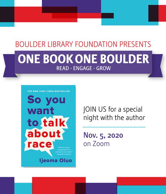 Nov. 5 Virtual Author Talk with Ijeoma Oluo