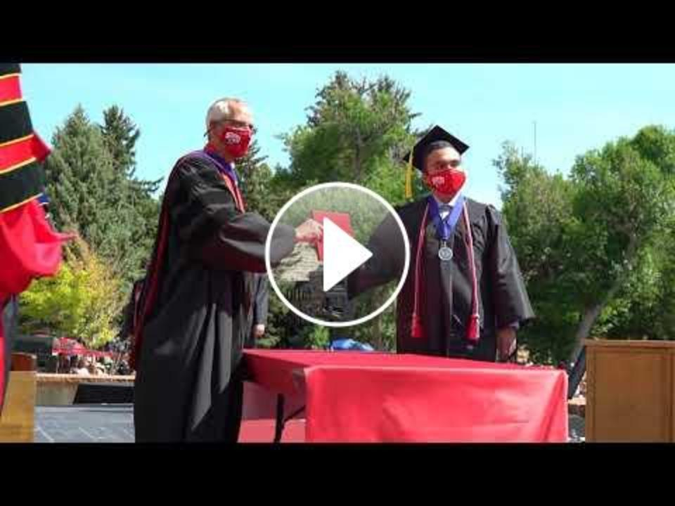Commencement on the Quad 2020