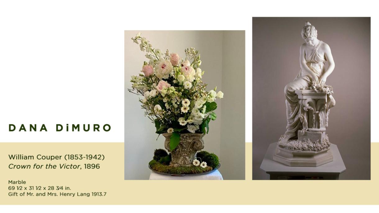 Virtual Art in Bloom exhibition
