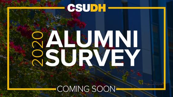 2020 Alumni Survey Coming Soon