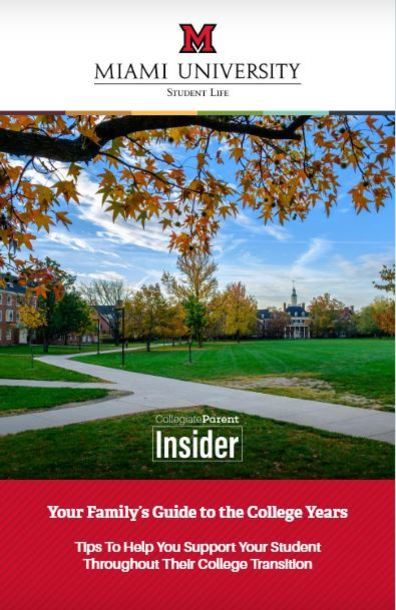 Miami University Insider Guide cover
