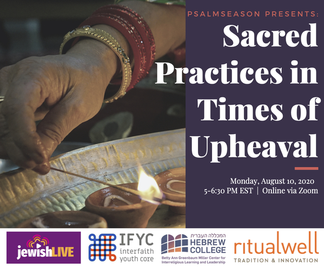 Sacred Practices in Times of Upheaval