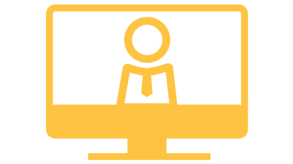 Online counseling icon: click here to access the Express Counseling virtual counter