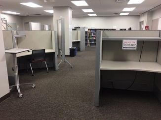 Reconfigured Med Lib Quiet Study Room