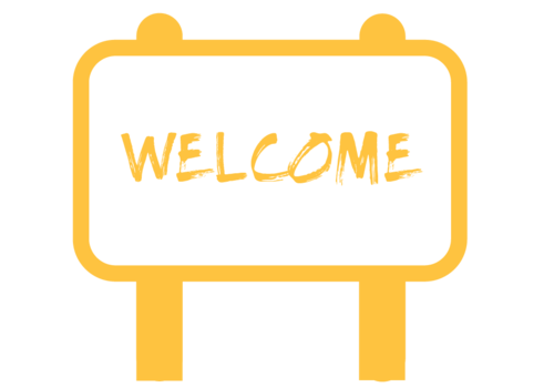 Virtual Welcome Center Icon Button
