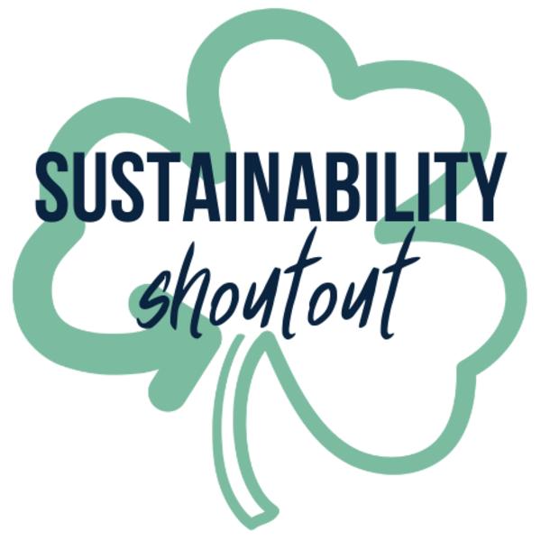 Sustainability shoutout logo