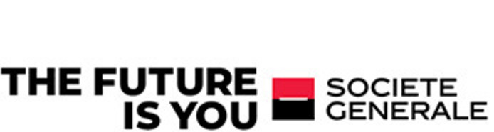 Soceite Generale logo with The Future is You text