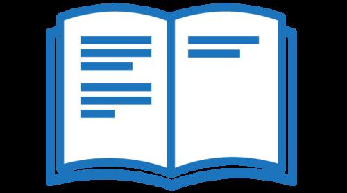 Bookstore Icon Button
