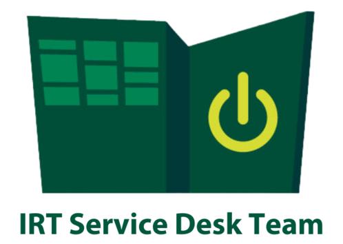 IRT Service Desk can help