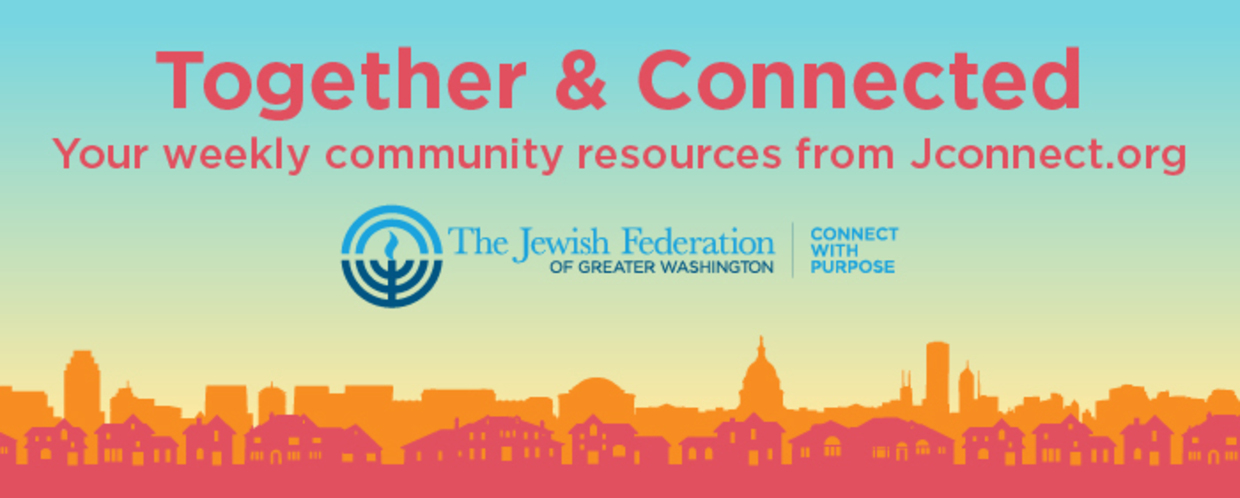 Together and Connected Banner