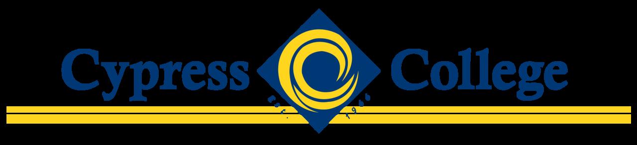 Cypress College logo header