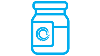 Food Bank Icon Button