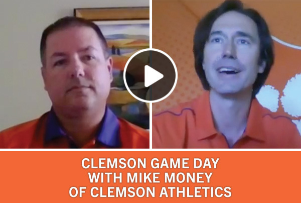 Clemson Game Day with Mike Money of Clemson Athletics