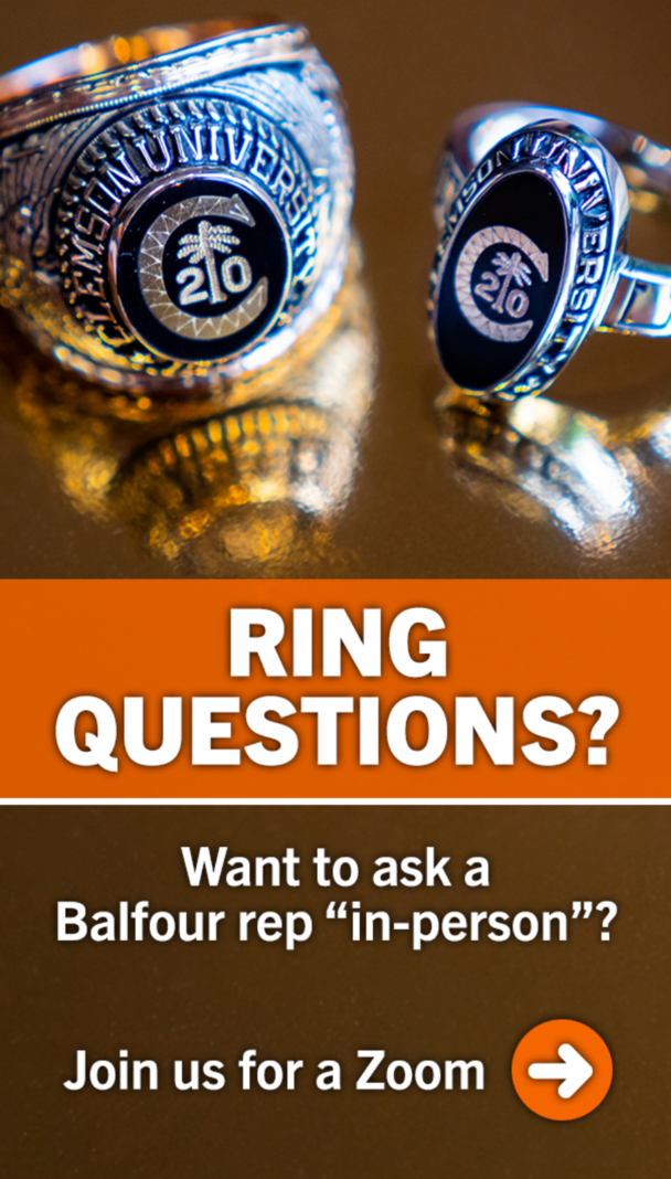 Ring questions? Want to ask a Balfour Rep