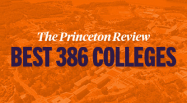The Princeton Review Best 386 Colleges