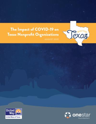 Report: Impact of COVID-19 on Texas Nonprofit Organizations