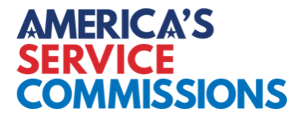 America's Service Commissions logo