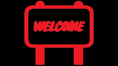 Welcome Center Icon Button