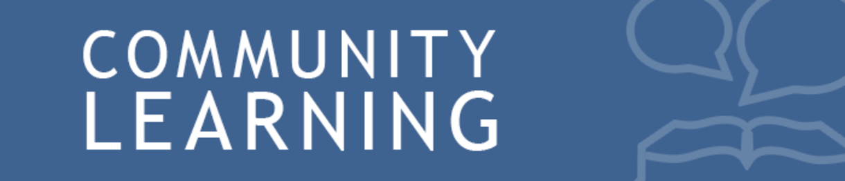 community learning banner
