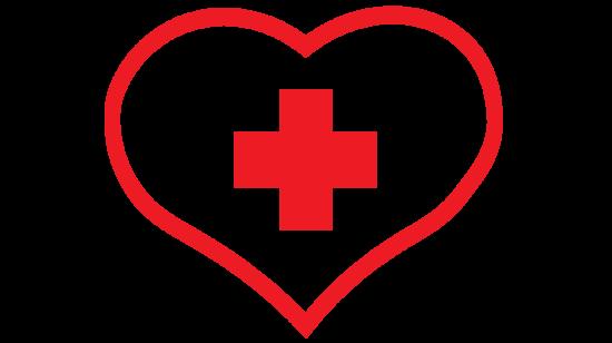 Health Center Icon Button