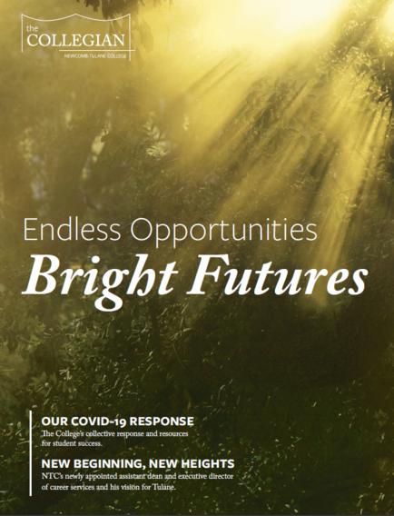 2020 Collegian Magazine Cover