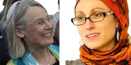 Photo - Rabbi Nancy Fuchs Kreimer & Dr. Celene Ibrahim