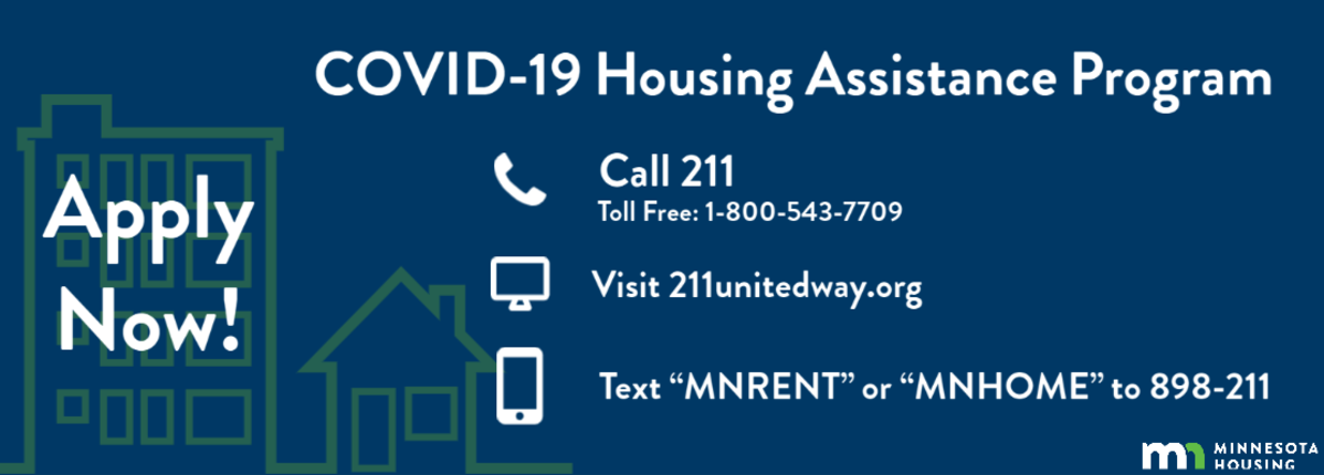 Apply Now for the COVID-19 Housing Assistance Program