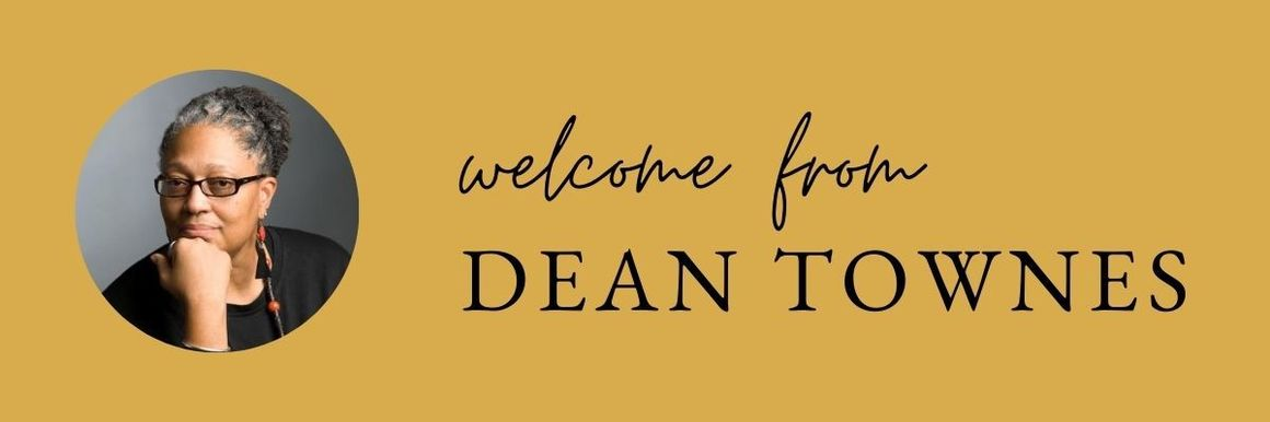 welcome header from dean townes