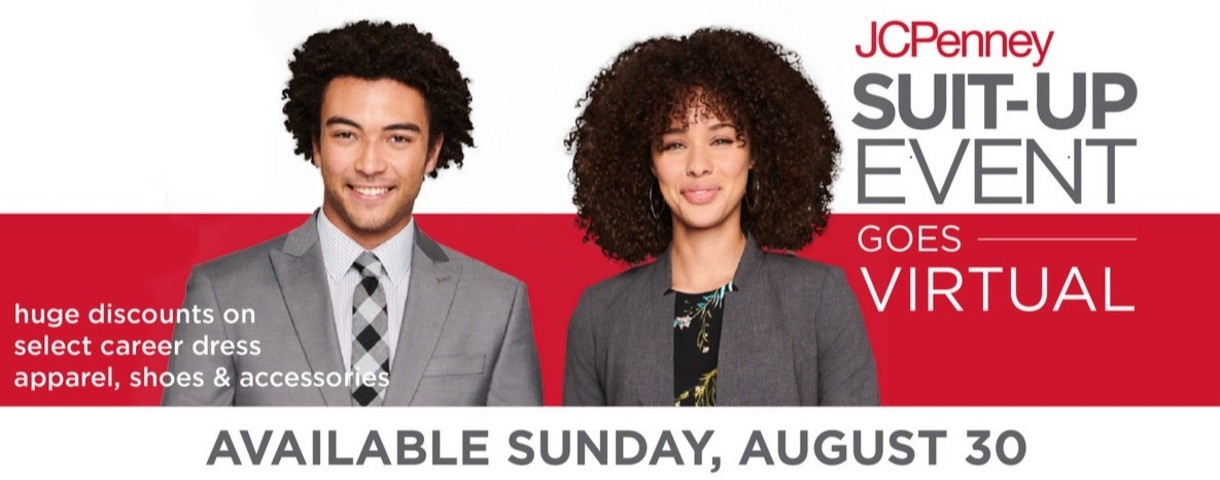 JCPenney Suit Up Event Goes Virtual, Available August 30th
