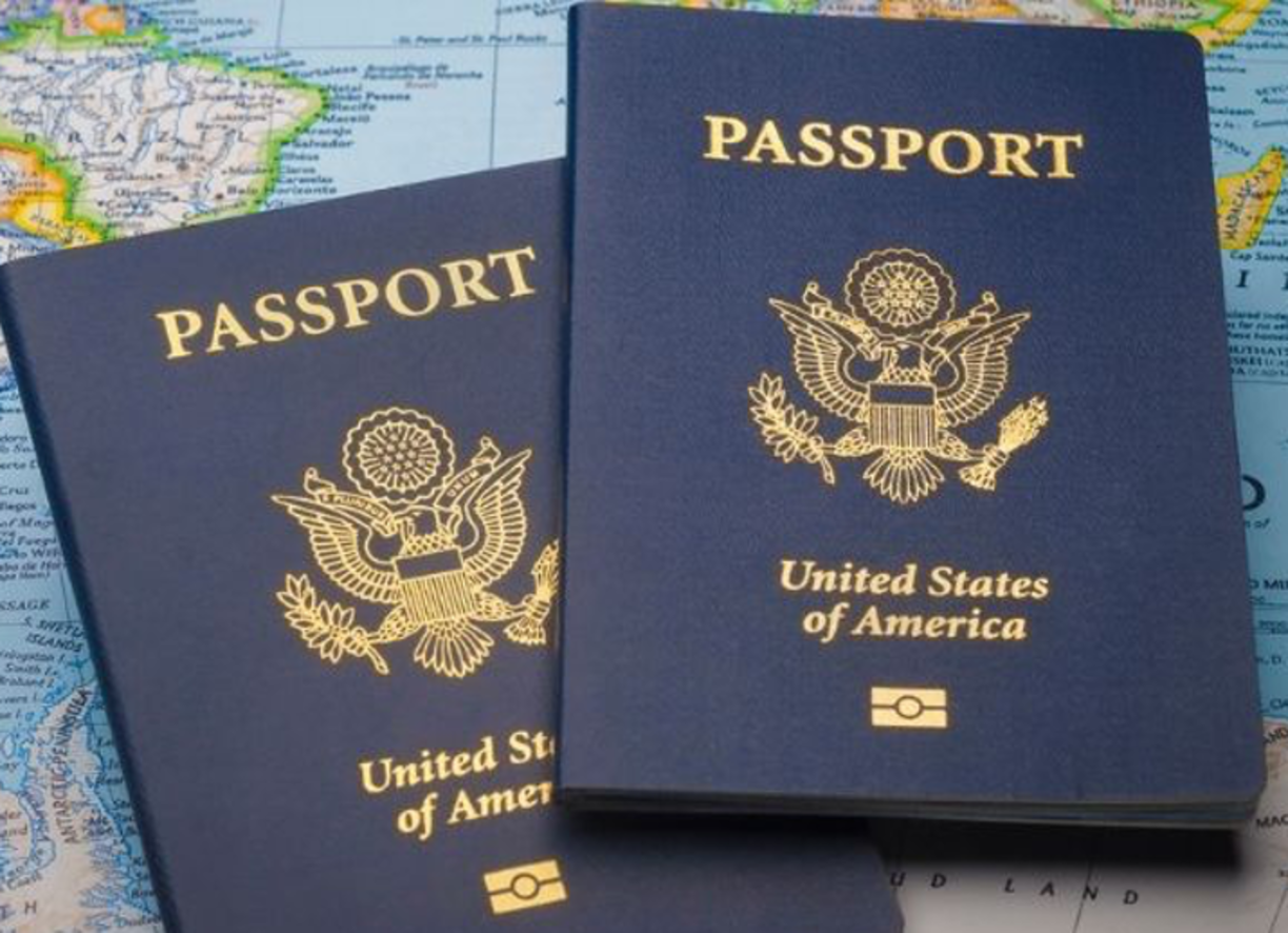 Link to Passport Services, Information repeated below