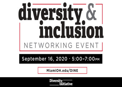 Link to Diversity and Inclusion Networking event, information repeated below
