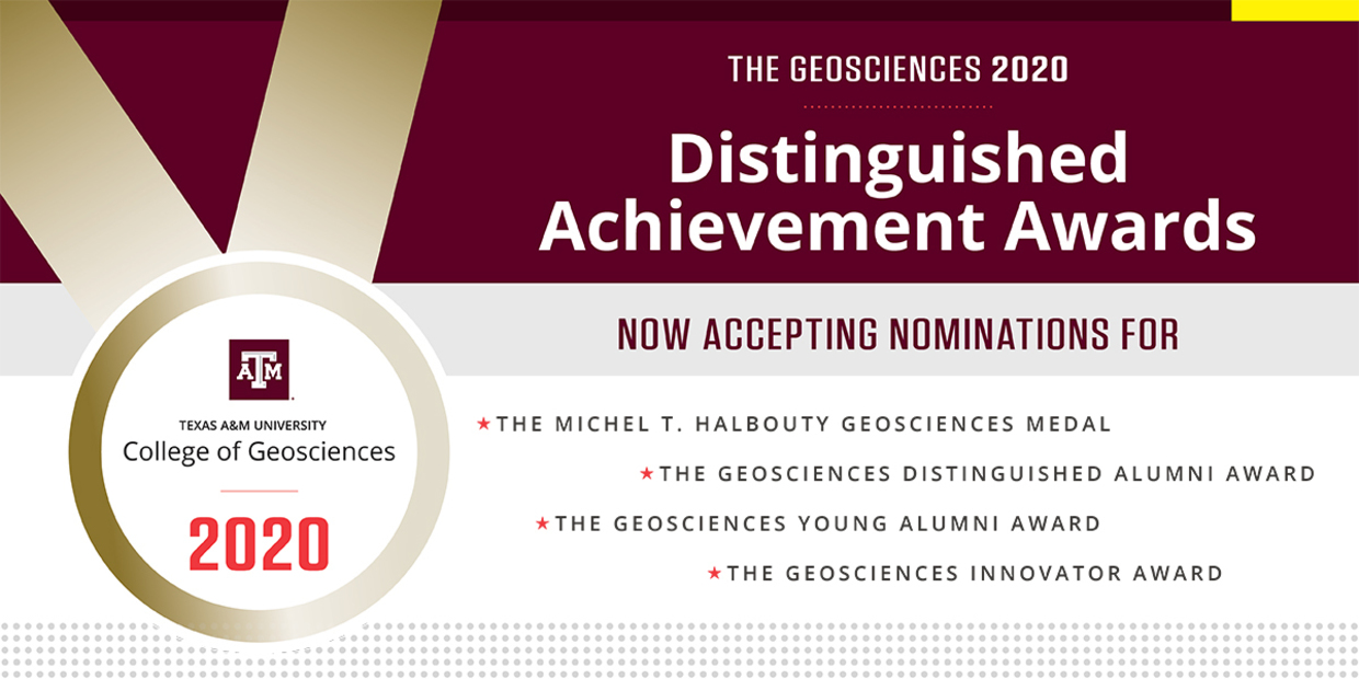 Distinguished Achievement Awards Call For Nominations 2020