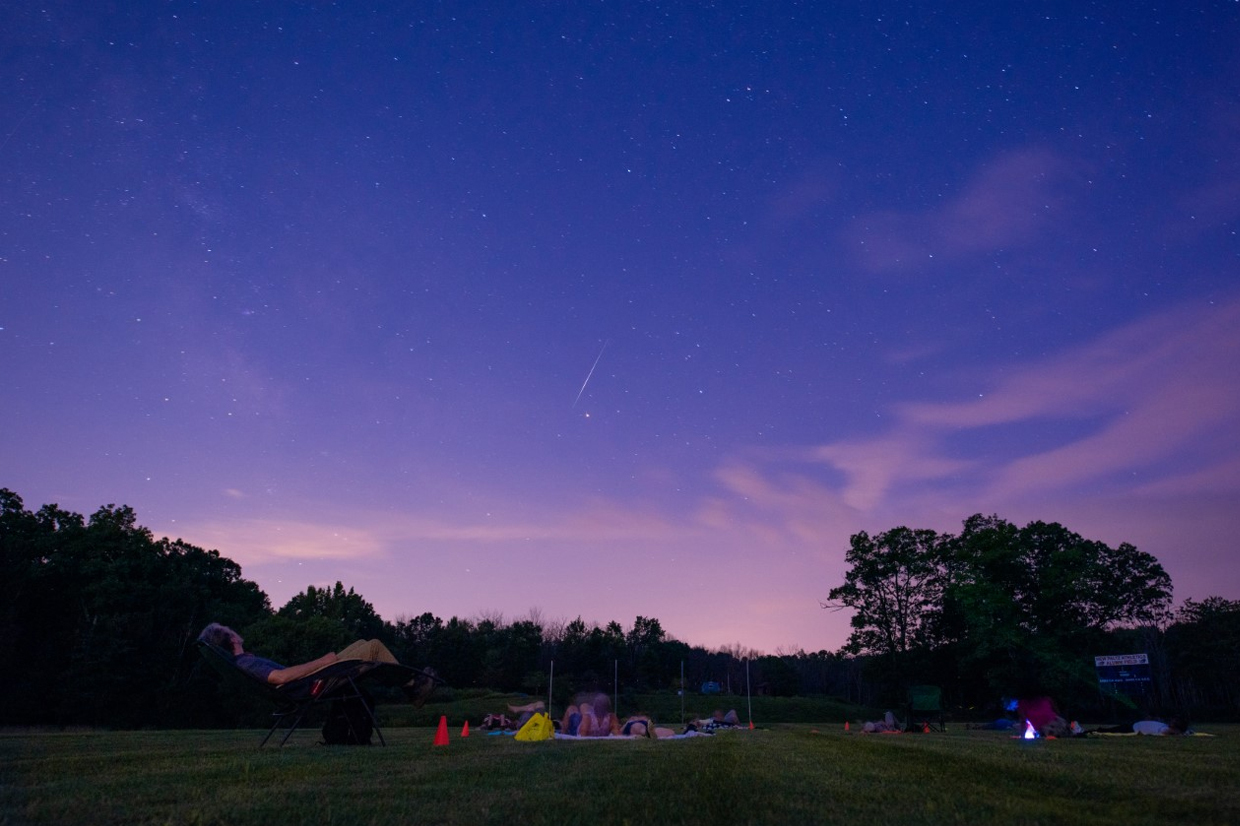 Summer draws to a close on the SUNY New Paltz campus. Photo by Robin Weinstein '14