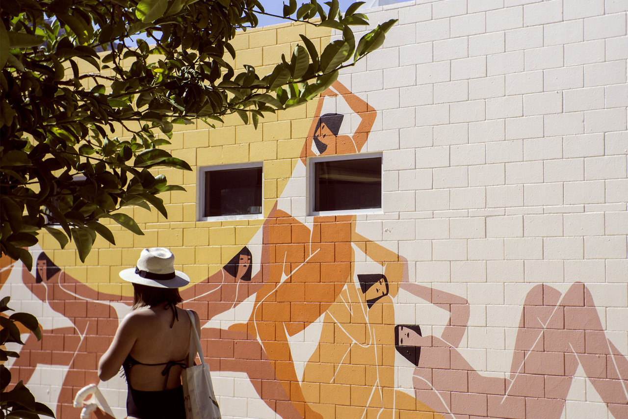 Mural by Laura Berger