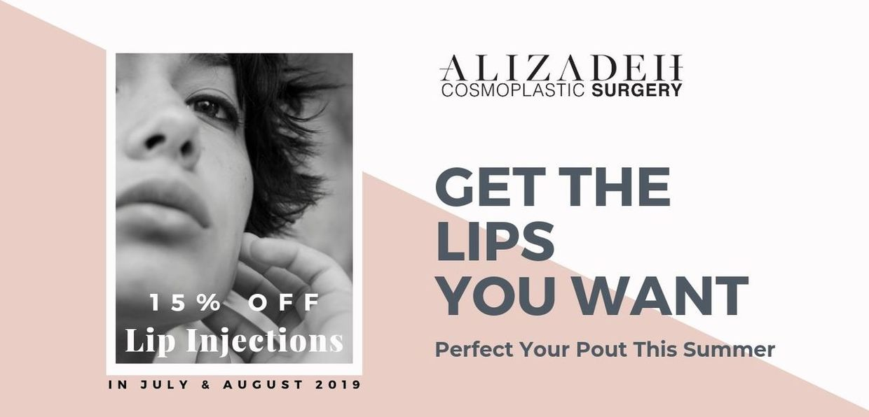 Get The Lips You Want - 15% Off Lip Injections