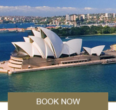 Book Now - Cape Town to Sydney