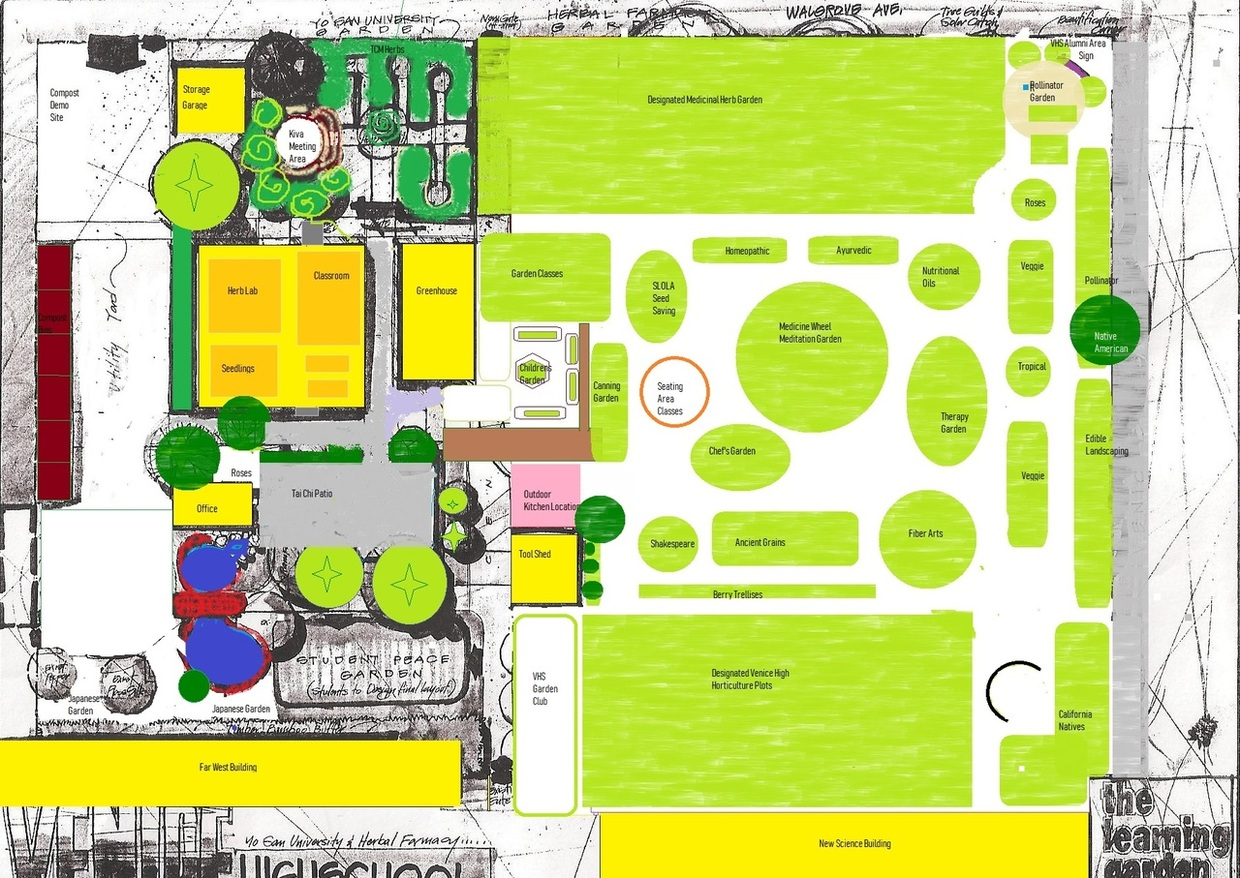 This is a plan map of the new garden that WE NEED TO BUILD TOGETHER!