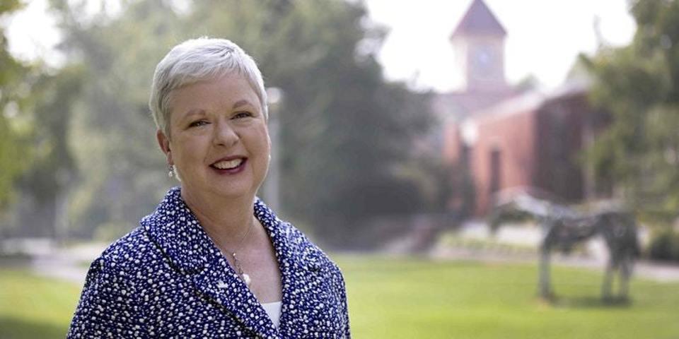 Portrait of President Kathleen Murray