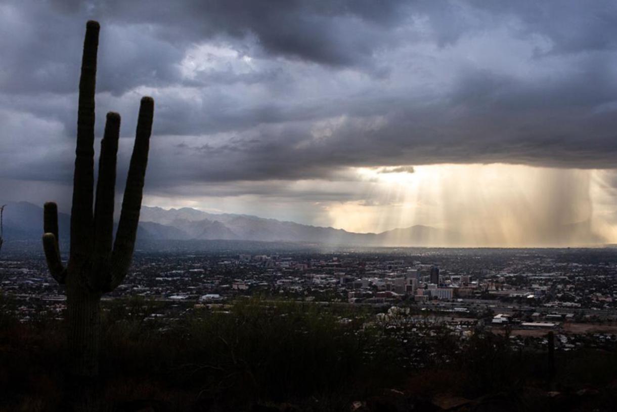 Monsoon over Tucson