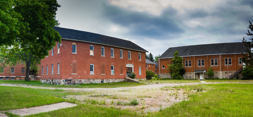 Photo of Mt. Pleasant Indian Industrial Boarding School
