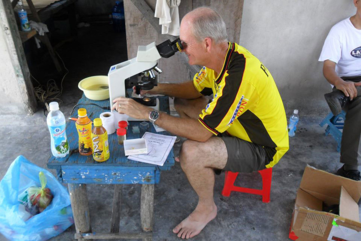 Kevin Fitzsimmons in Myanmar