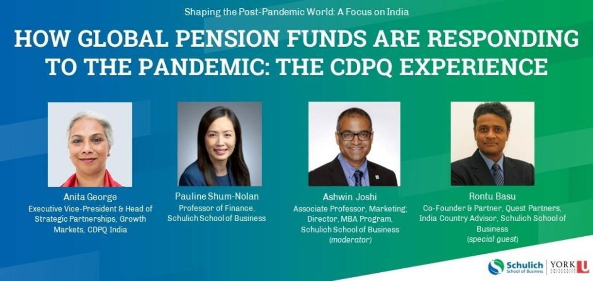 How Global Pension Funds are Responding to the PandemicL the CDPQ Experience Panel